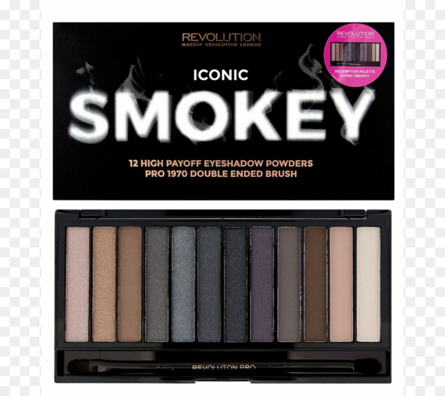 Makeup Revolution Iconic Smokey Eyeshadow Palette Eye Shadow Makeup Revolution Iconic 3 Cosmetics Makeup Revolution Iconic Pro 2 Eyeshadow Palette - eye ...