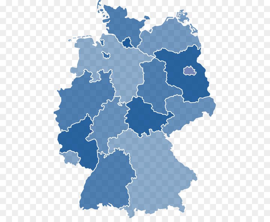 Bremen States of Germany Brandenburg Map - map png download - 541 ...