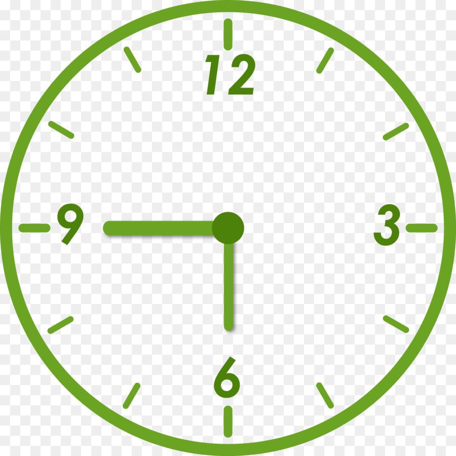 Dijital Saat Boyama Kitabı Alarm Guguklu Saat Saatler Saat Png