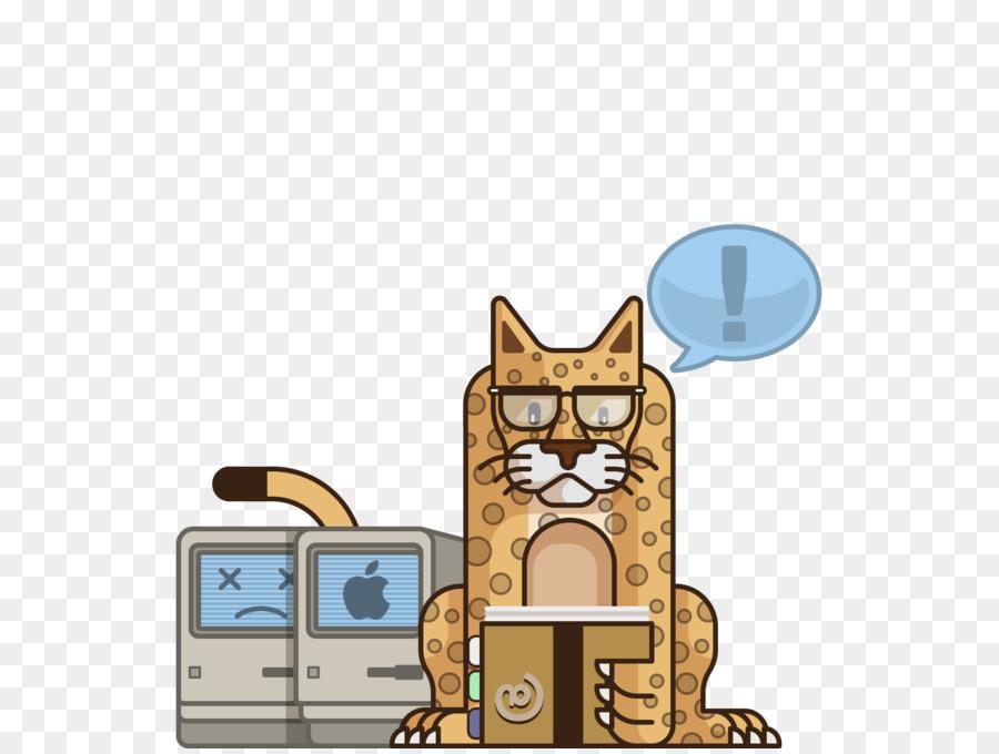 Mac Os X 102 Cat png download - 1600*1200 - Free Transparent