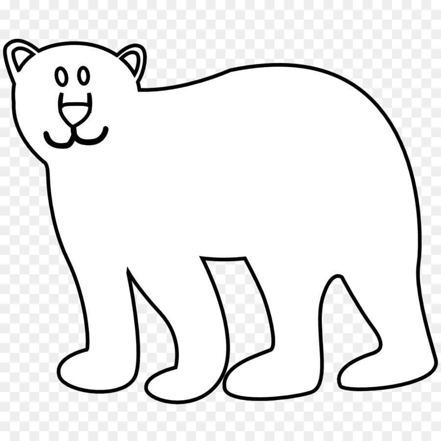 Polar oso panda Gigante, Animal Dibujo - oso polar Formatos De ...