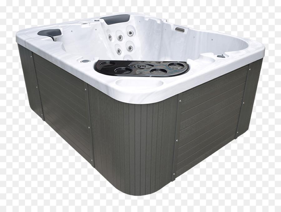 Hot tub Bathtub Spa Swimming pool Shower - bathtub png download ...