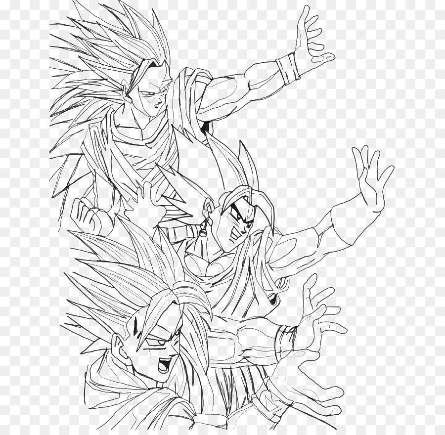 Goku Super Dragon Ball Z Dragon Ball Xenoverse para Colorear libro ...