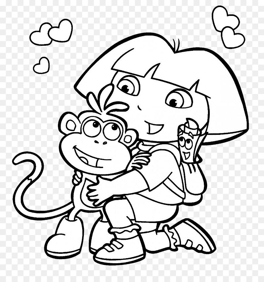 Libro para colorear de Niño de Nick Jr Dibujo - niño Formatos De ...