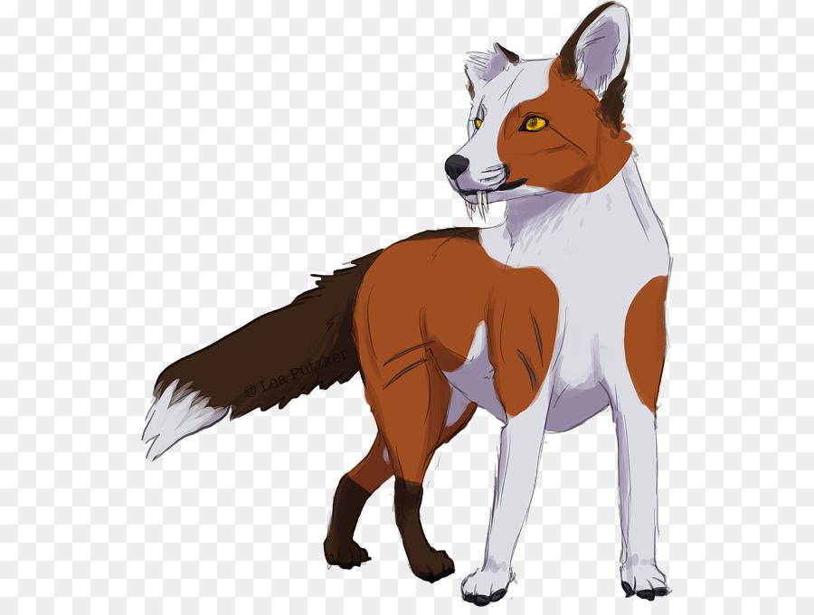 Red Fox Raça Do Cão De Pêlo Do Focinho Cachorro