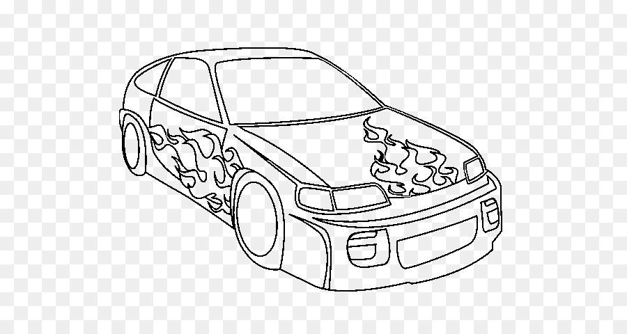 Coche deportivo de carreras de autos para Colorear libro - Coches ...