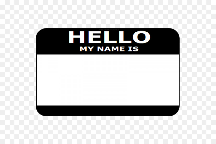 name tag sticker pin label zazzle pin png download 600 600