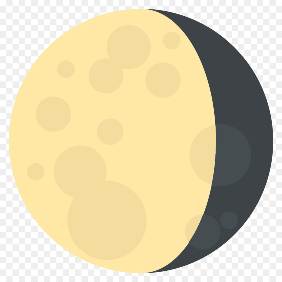 Lunar Phase Emoji Symbol Full Moon Emoji Png Download 10241024