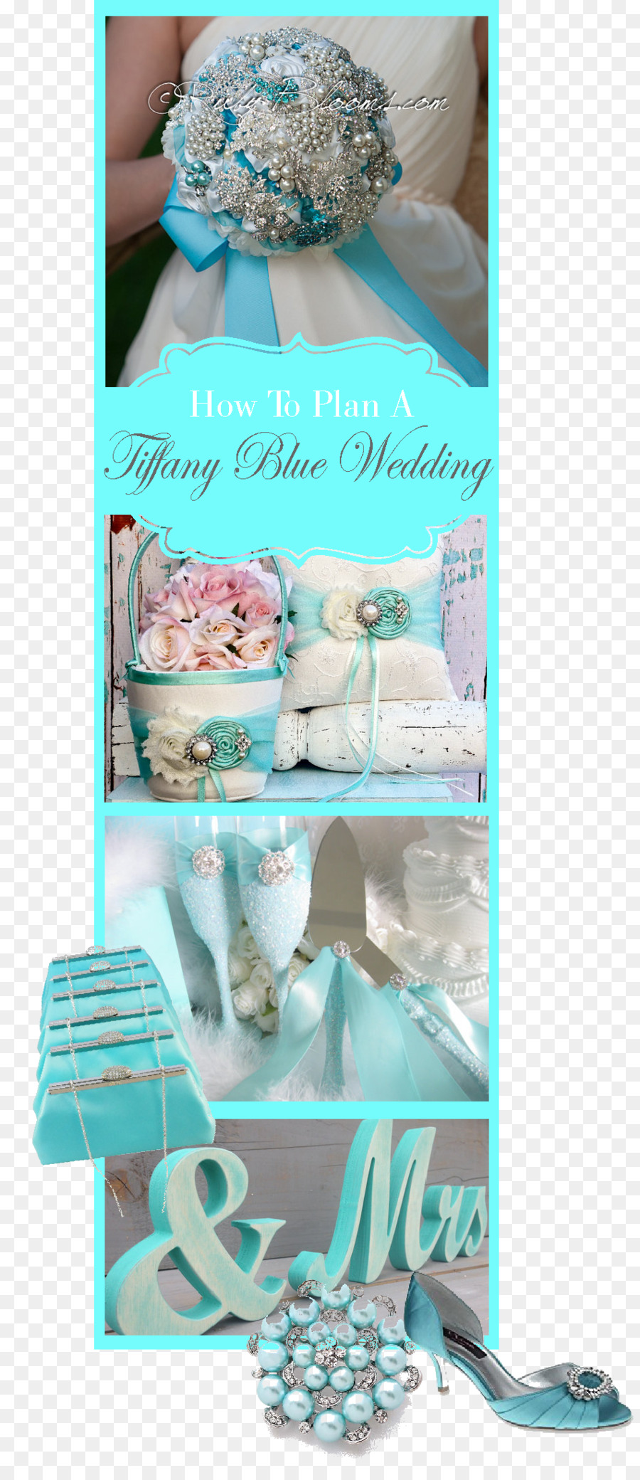 Wedding Reception Tiffany Blue Aqua