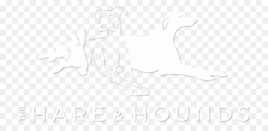 Garis Seni Gambar Putih Mamalia Sketsa Kelinci Dan Anjing Png