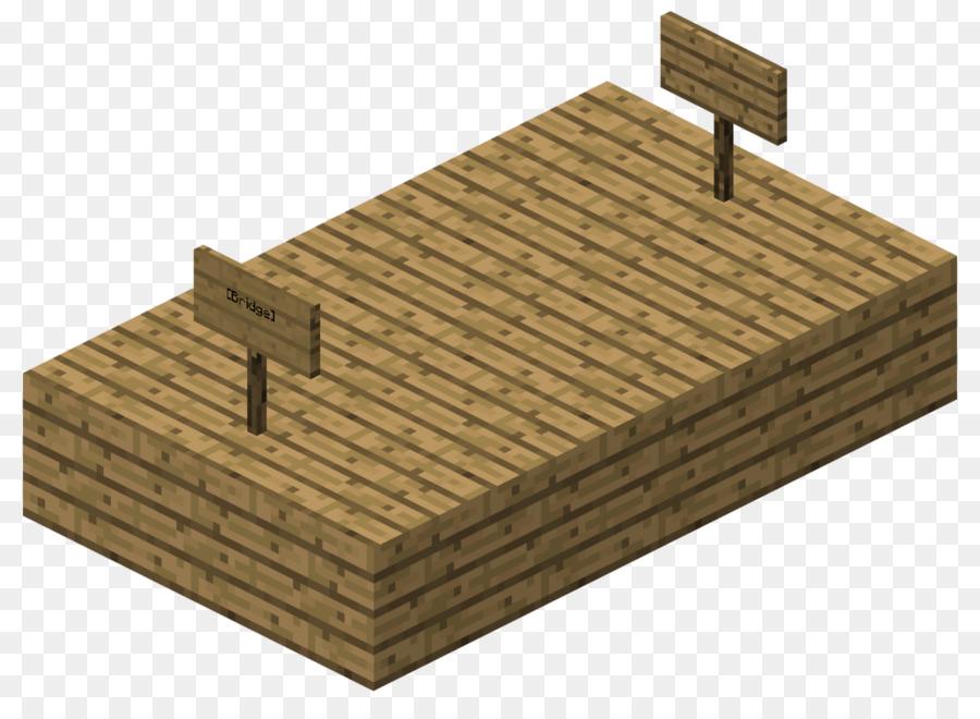 Minecraft Lumber Bridge Hardwood Book Front Png Download 1200