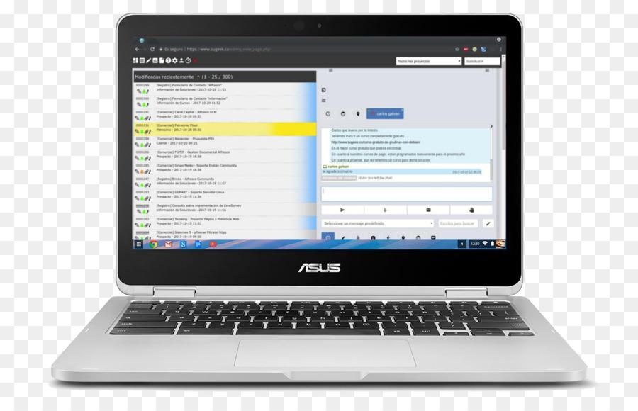 Laptop Intel Core ASUS Chromebook Flip C302 - Laptop png