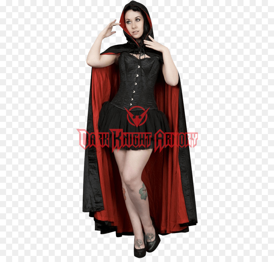 Robe Cape Cloak Velvet Hood - satin png download - 850*850 - Free ...