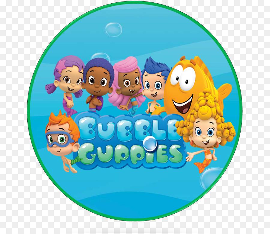 Pastel de cumpleaños Guppy Parte de la Burbuja de Cachorro! - bubble ...