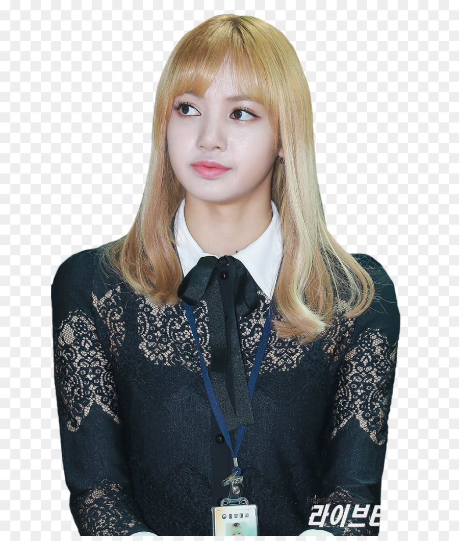 Lisa Blackpink Blond 인천본부세관 Incheon International Airport
