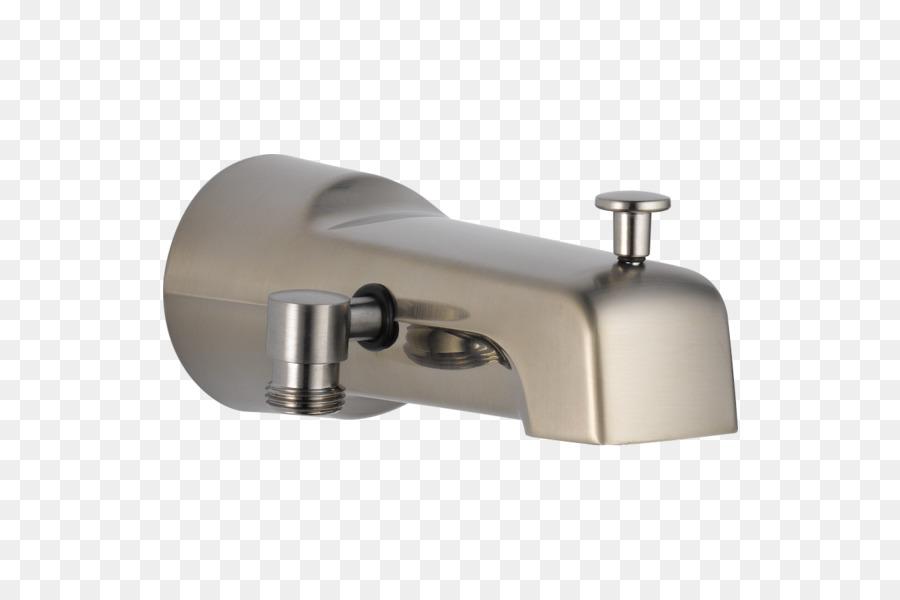 Tap Shower Bathtub Stainless steel Moen - Bathtub Spout png download ...