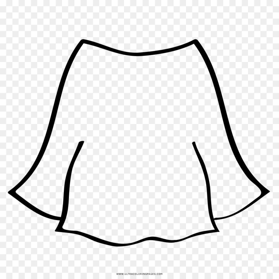 Ropa de Dibujo Minifalda libro para Colorear - mama Formatos De ...
