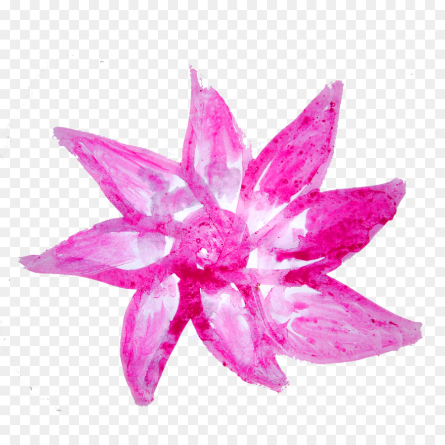 Watercolor Pink Flowers png download - 1024*1024 - Free