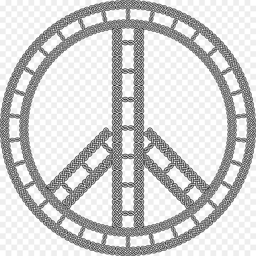 Peace Symbols Hippie 1960s Flower Power Symbol Png Download 1280