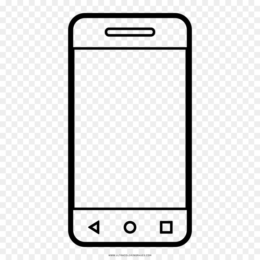 Telefon özelliği Telefon çizim Boyama Kitabı Akıllı Telefon Png