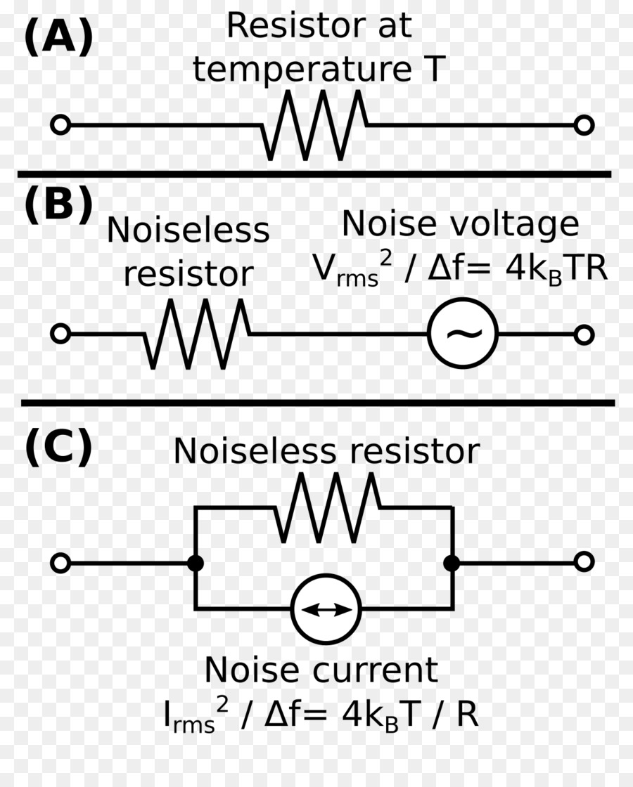 Circuito Seri E Paralelo : Johnsonu nyquist ruido de resistores en serie y en paralelo los