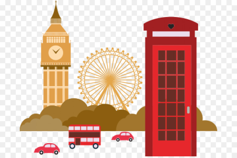 London Drawing Picture Frames English London Png Download 750