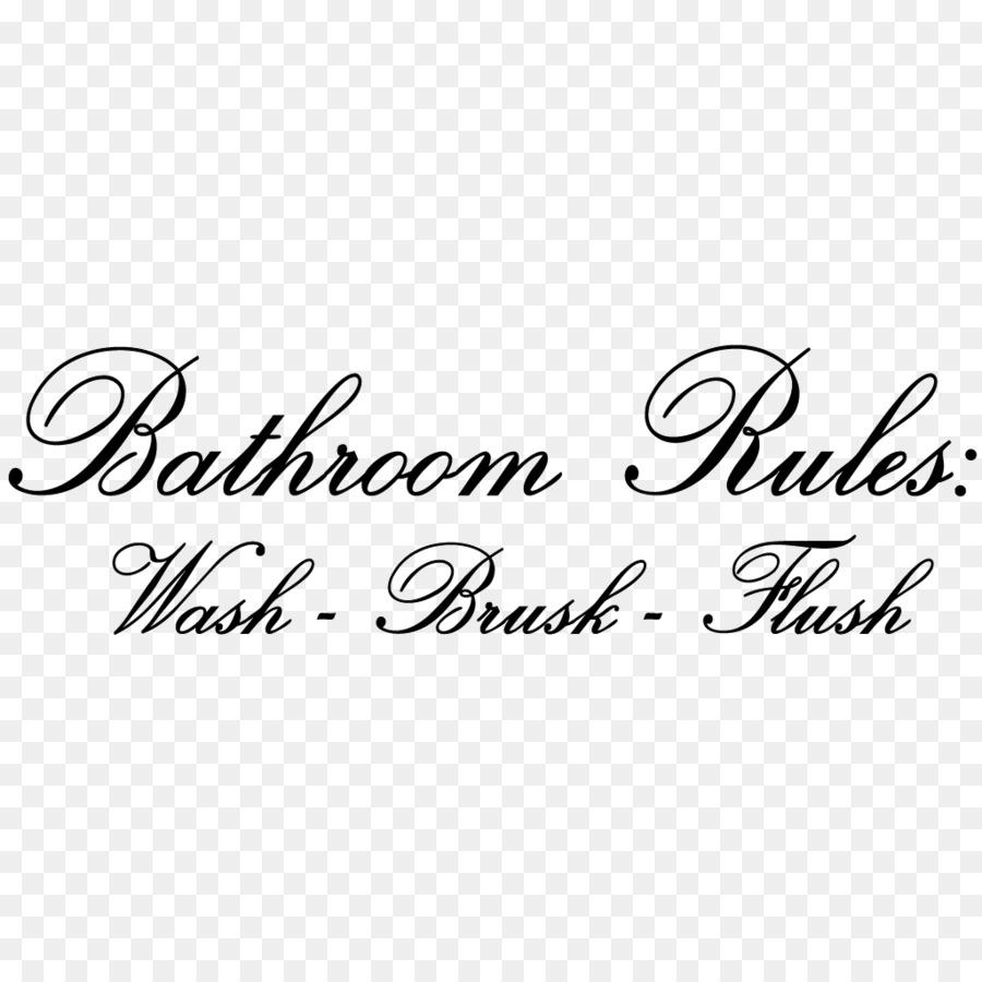 Logo Brand LINE Strap Computer font - toilet rules png download ...