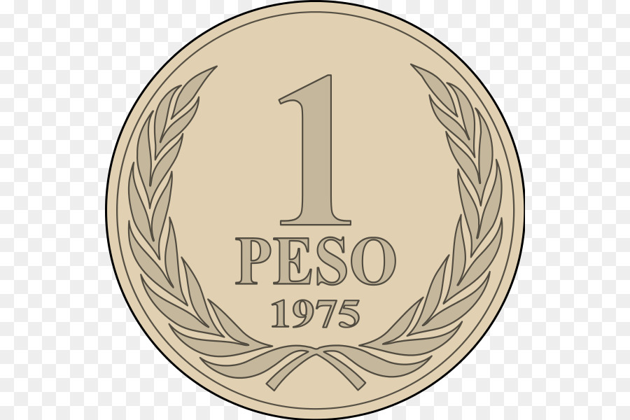 Chilean Peso Coin Currency Iso 4217 Coin Png Download 600600