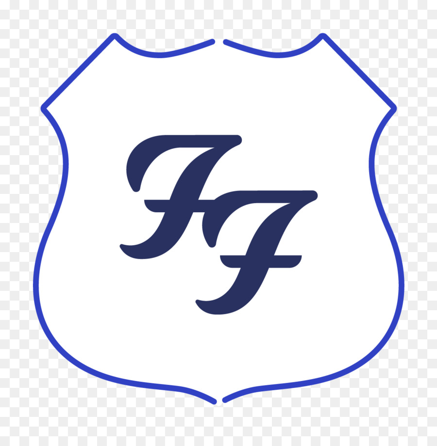 Foo Fighters Logo Decal Concert Concrete And Gold Foofoo Png