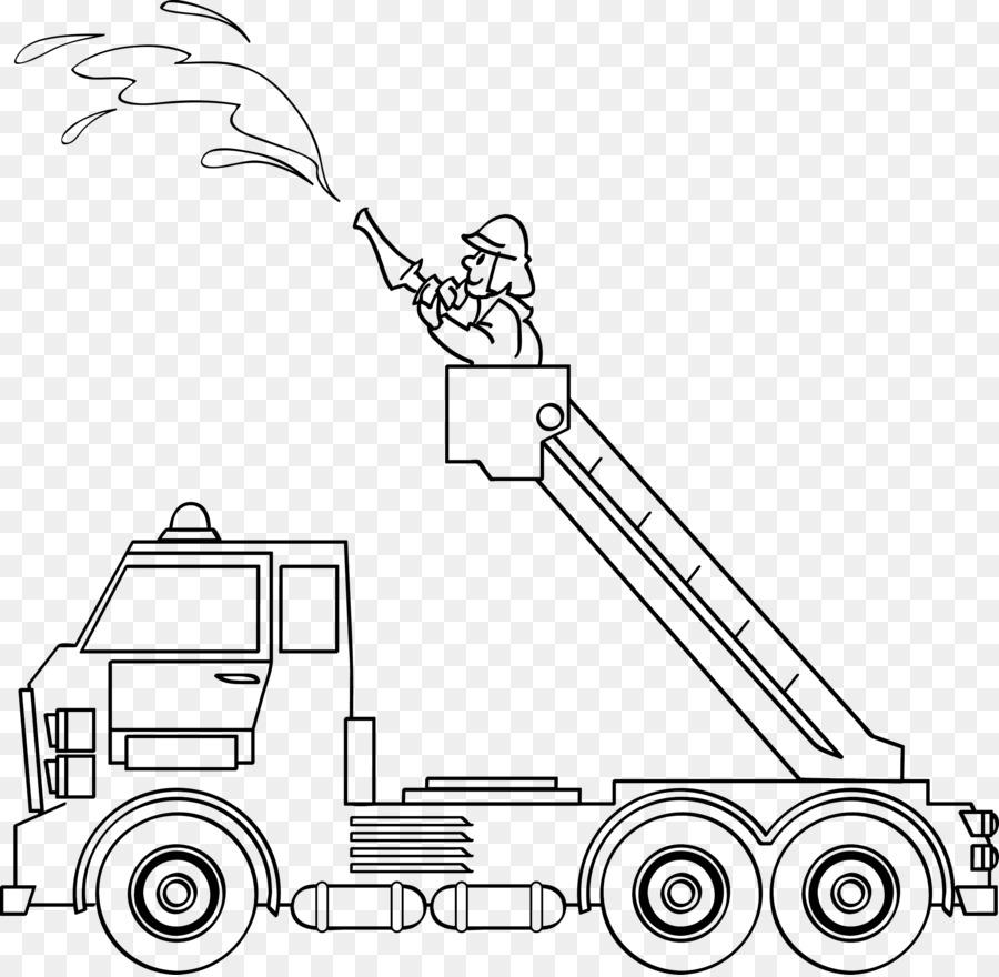 Dibujo para colorear Hilfeleistungslöschgruppenfahrzeug Fire engine ...