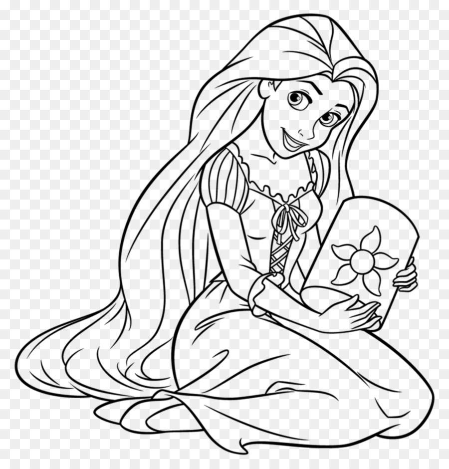 Rapunzel Princesas Ariel Tiana Belle - La Princesa De Disney png ...
