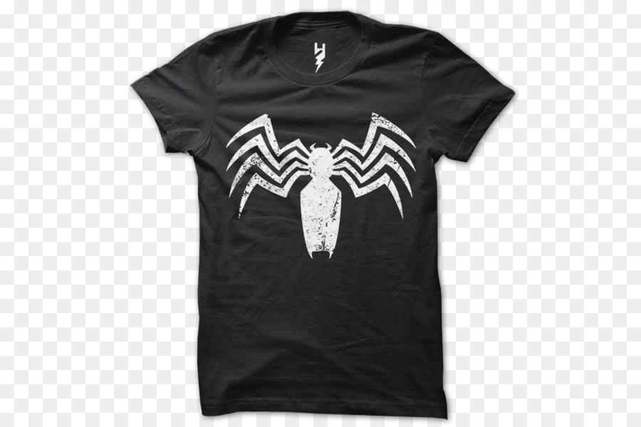 96718690cd1305 Spider-Man T-shirt Venom Marvel Comics Superhero - Eddie Brock png ...