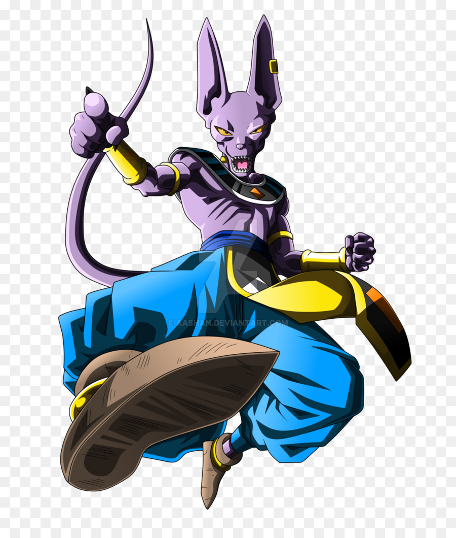 Beerus Goku Drawing Dragon Ball Super Saiyan Goku Png Download