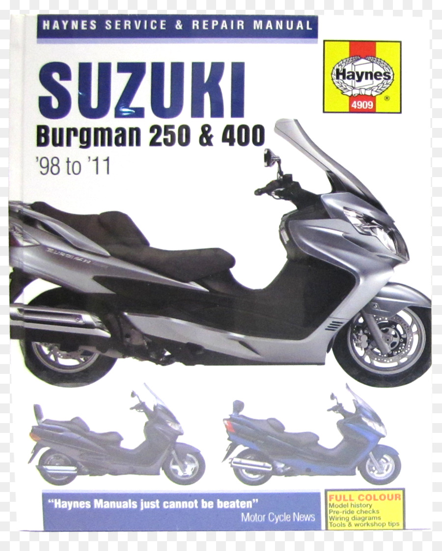suzuki burgman 400 scooter haynes manual suzuki png download rh kisspng com suzuki burgman 400 repair manual download 2004 suzuki burgman 400 service manual