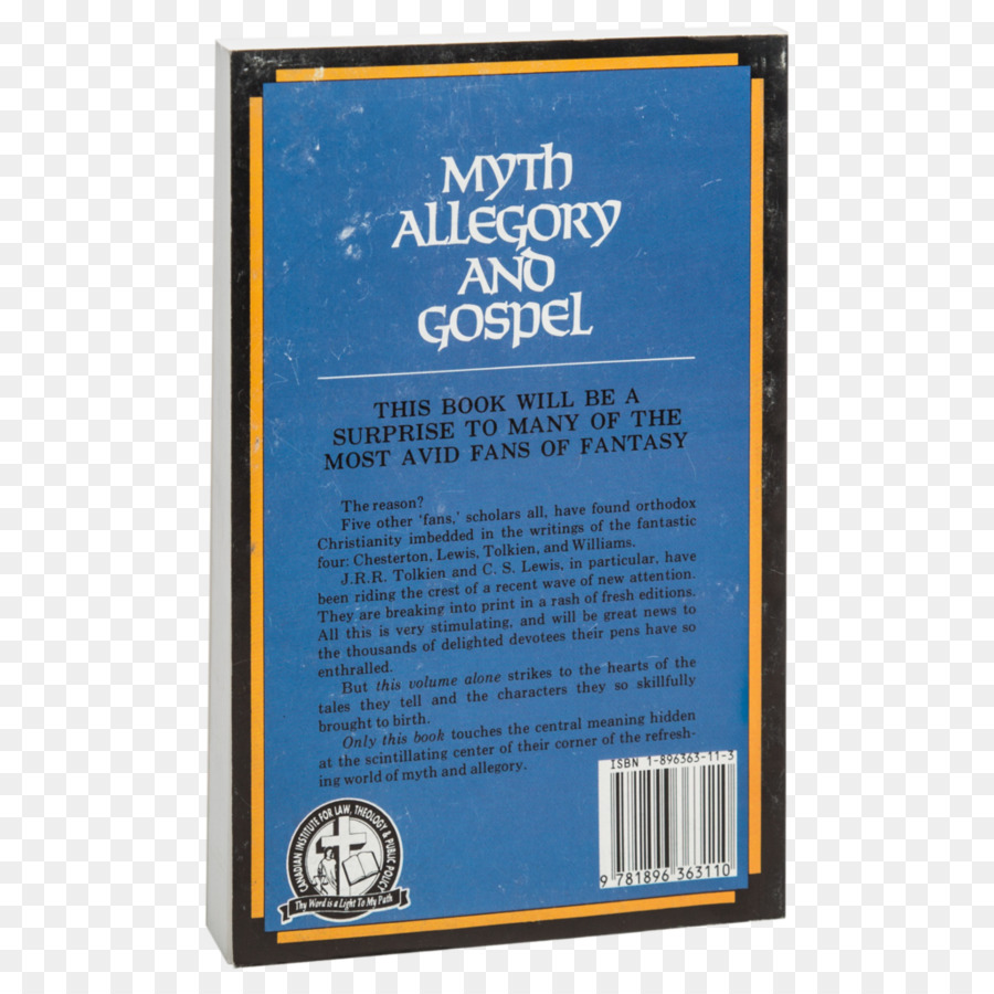 Myth, Allegory, and Gospel Bible Christian apologetics Book