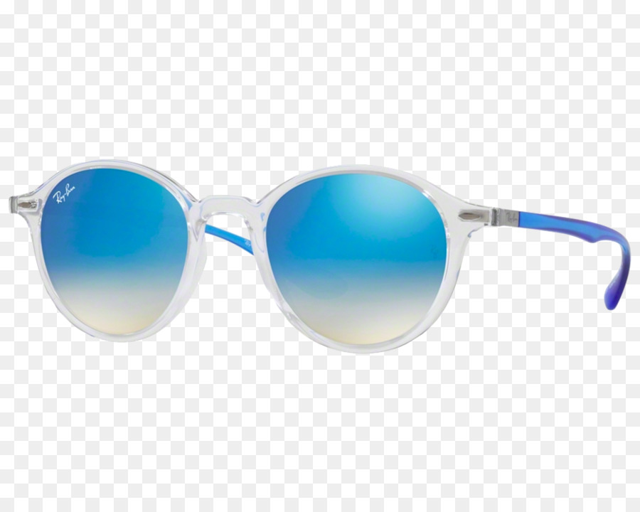 654674a3d4363 Ray-Ban Wayfarer Dobrável Flash Lentes De Óculos De Sol Ray-Ban Redonda De  Metal - ray ban