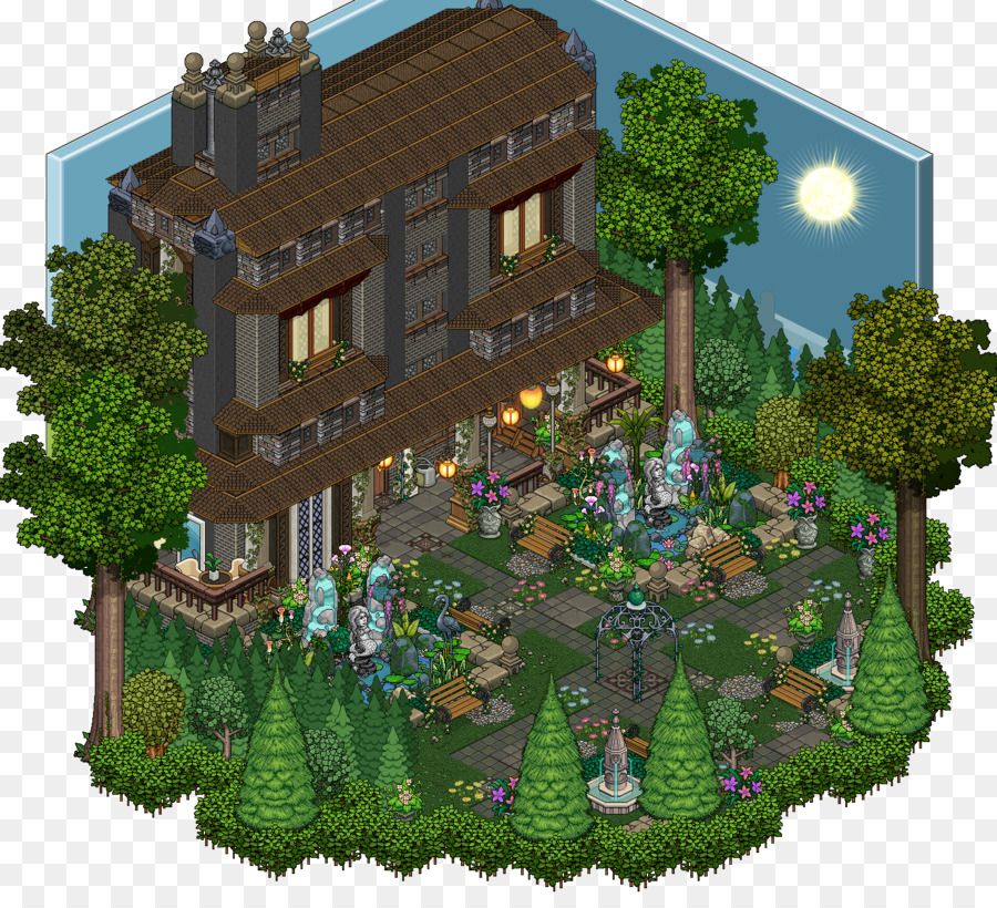 Habbo House Plan Mansion Minecraft