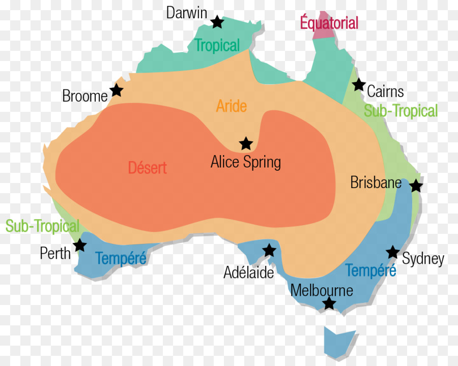 Australias klima Deserts of Australia Map Climate - Australia png ...