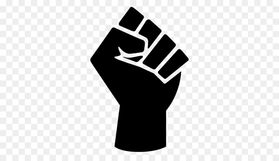 Raised Fist Black Power Black Panther Party Symbol Symbol Png