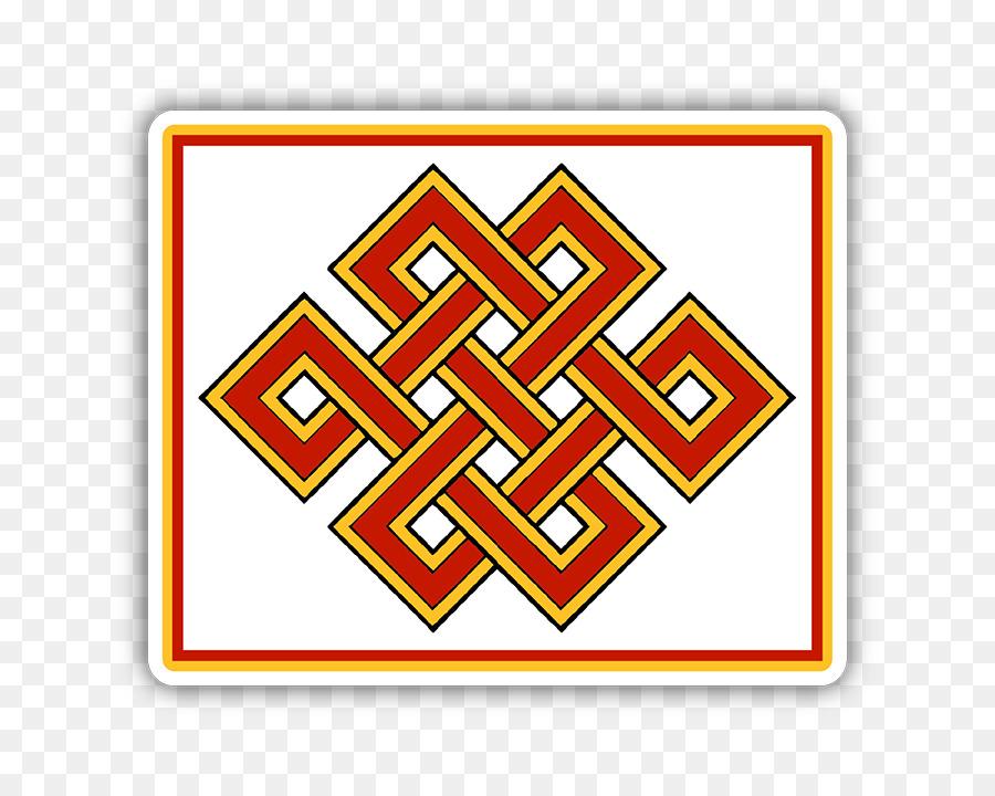 Endless Knot Tibetan Buddhism Eternity Symbol Endless Knot Png
