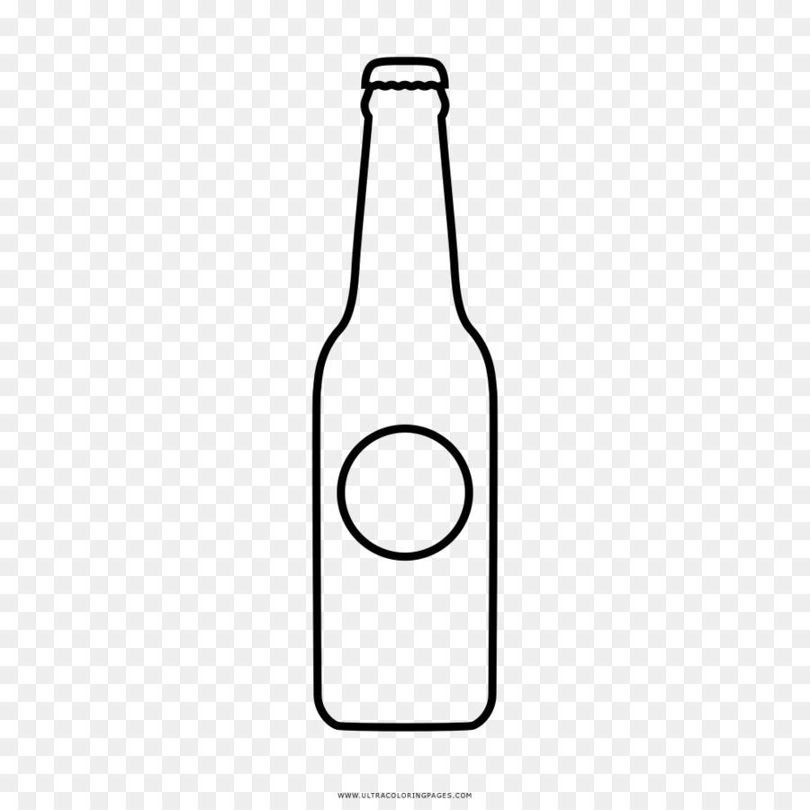 Bier, Flasche, Zeichnung Glass Coloring book - Flasche png ...