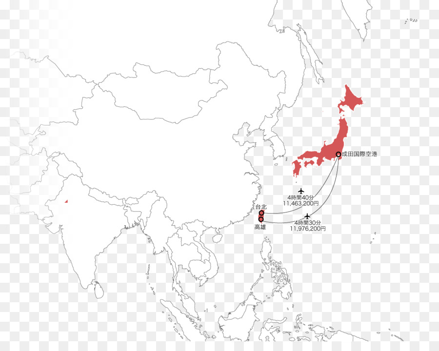 A Blank Map Of Asia.Blank Map Asia Ecoregion White Map Png Download 1130 880 Free