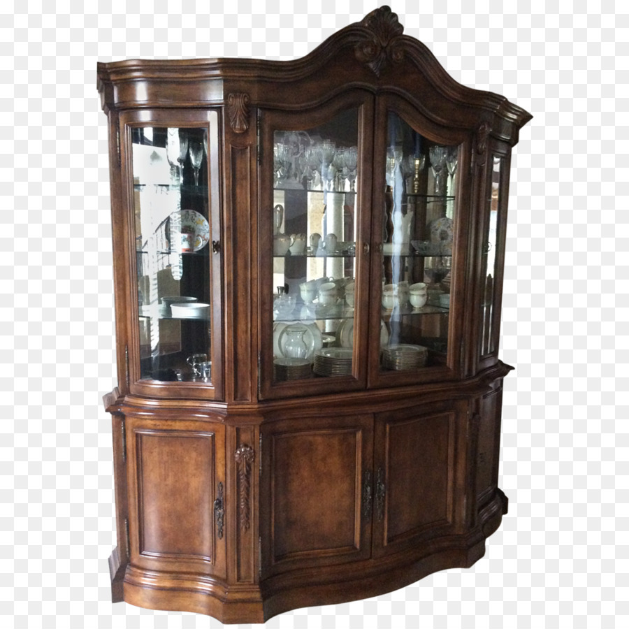 Cupboard Buffets & Sideboards Antique - China Cabinet - Cupboard Buffets & Sideboards Antique - China Cabinet Png Download