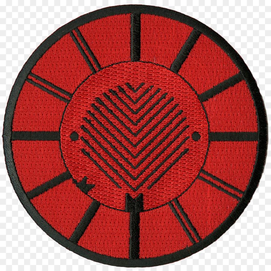 51b8bb91684 Patch bordado do Símbolo Convergem Deathwish Inc. Padrão - Patch Bordado