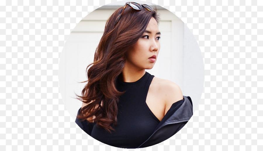 Brown hair Hair coloring Black hair - hair png download - 501*512 ...