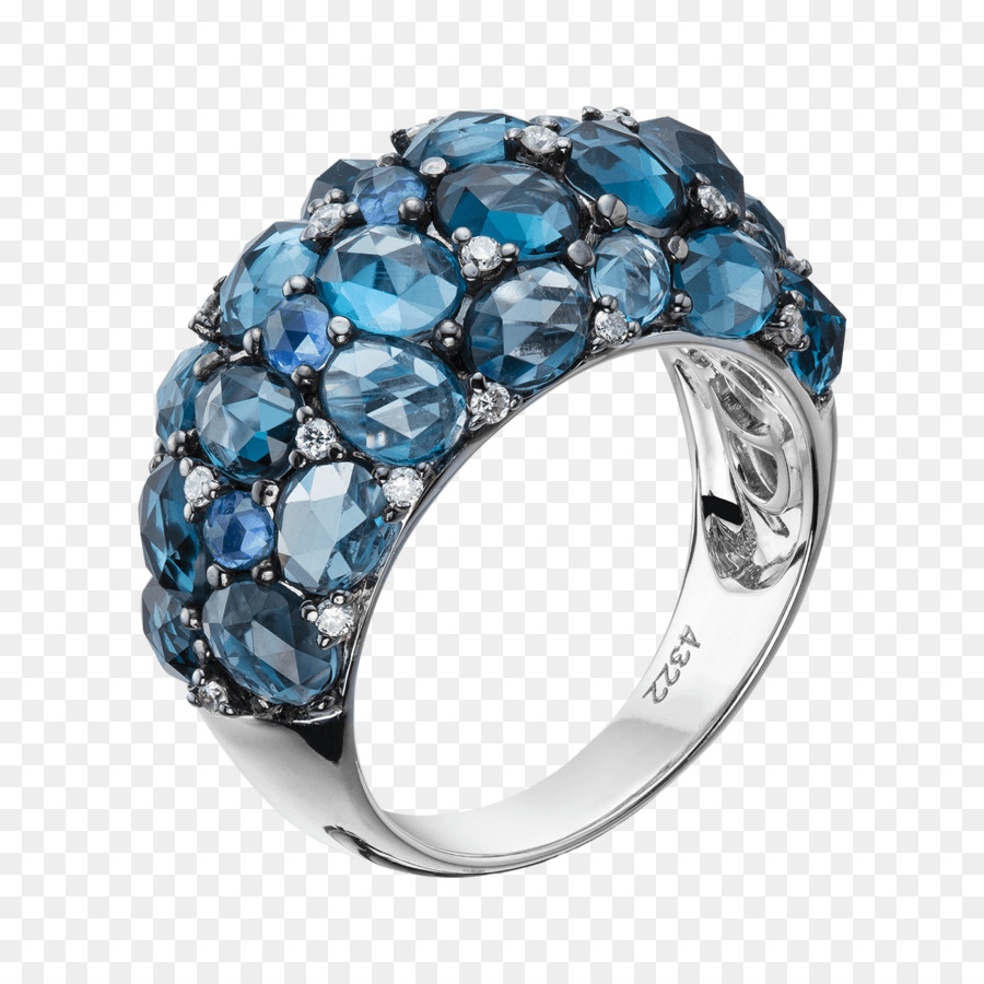 Saphir Schmuck Hochzeit Ring Bitxi Saphir Png Herunterladen 1300