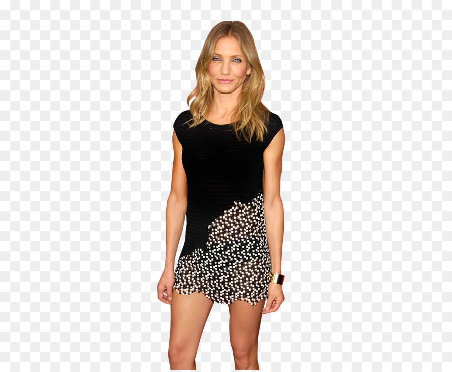 Little black dress T-shirt Plus-size clothing Plus-size model ...