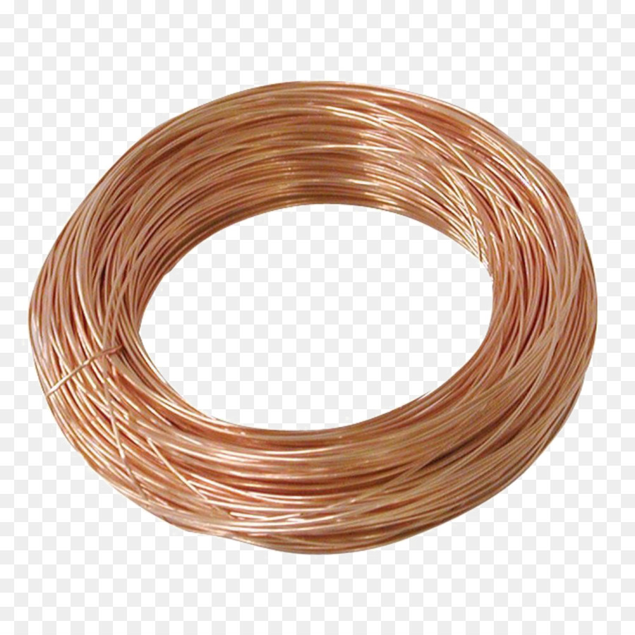 Copper conductor Wire rope Magnet wire - Wire png png download ...