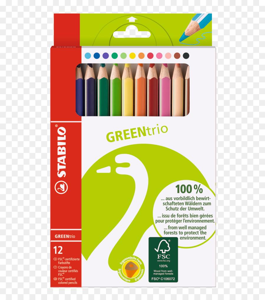 Colored pencil Schwan-STABILO Schwanhäußer GmbH & Co. KG Stationery ...