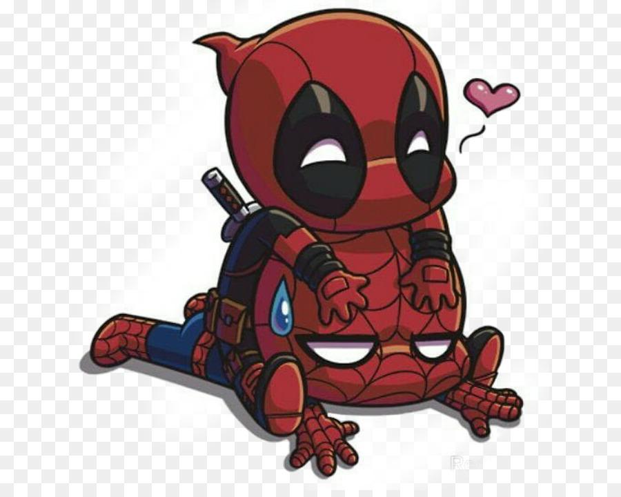 Deadpool Spider Man Iron Man Daredevil Drawing   Deadpool